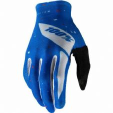 New 100% Celium Glove Motocross Blue/White S M L XL